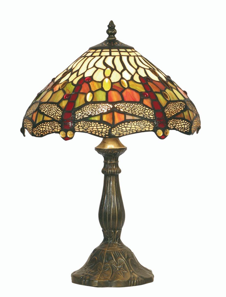 Bureau Hang Tl Lamp.Dragonfly Tiffany Table Lamp Medium