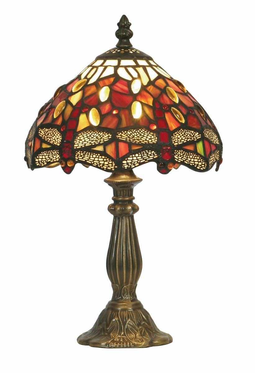 Dragonfly Tiffany Table Lamp Small