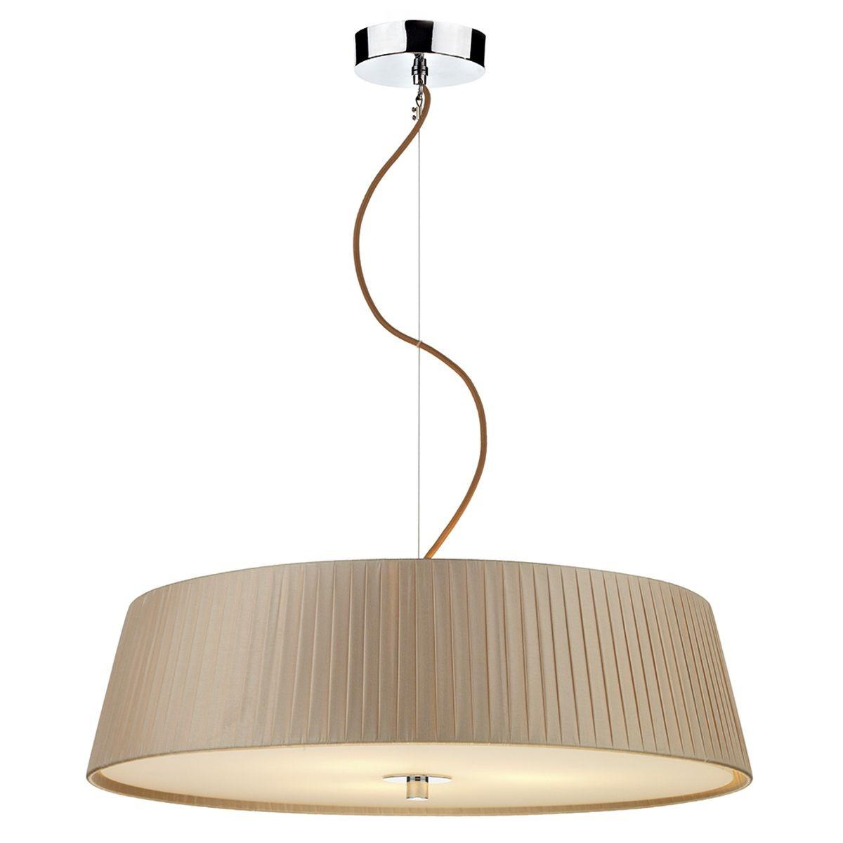 wheel 3 light taupe pendant. Black Bedroom Furniture Sets. Home Design Ideas