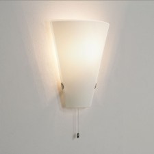 Astro Lighting Taper Wall light - 1 Light, Opal Glass