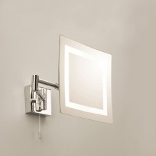 Astro Lighting Torino Magnifying Mirror - 1 Light, Polished Chrome