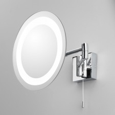 Astro Lighting Genova Magnifying Mirror - 1 Light, Polished Chrome