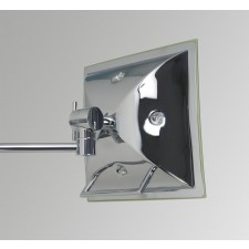 Astro Lighting Niro Magnifying Mirror - 1 Light, Polished Chrome