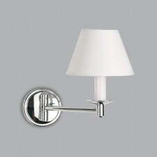 Astro Lighting Grosvenor Swing Arm Wall Light - 1 Light, Polished Chrome