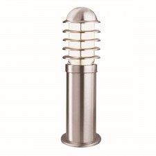 IP44 Outdoor Light - Silver Post 45cm