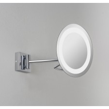 Astro Lighting Gena Plus Magnifying Mirror - 1 Light, Polished Chrome