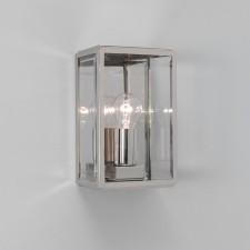 Astro Lighting Homefield Outdoor Wall Light - 1 Light, Polished Nickel