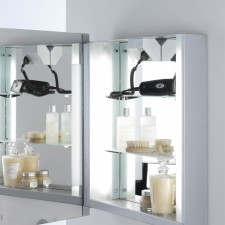 Astro Lighting Livorno Shaver Mirror Cabinet - 2 Light, Mirror