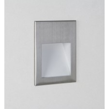 Astro Lighting Borgo 90 Wall Light - 1 Light, Brushed Stainless Steel