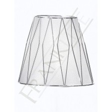 Franklite 1114 Silver/Chrome Shade