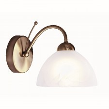 Milanese Wall Light - antique brass
