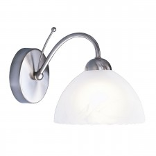 Milanese Wall Light - satin silver
