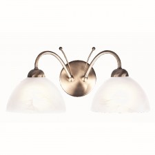 Milanese Wall Light - 2 Light antique brass