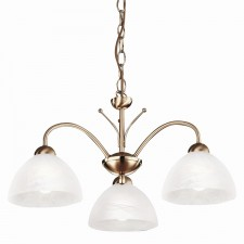 Milanese Ceiling Light - antique brass