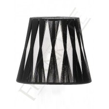 Franklite 1141 Candle Shade Silver/Black String