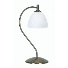 Hamburg Decorative Table Lamp - Antique Chrome