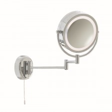 Bathroom Mirror - Magnifying & Light