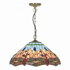 Dragonfly Tiffany Ceiling Light - pendant