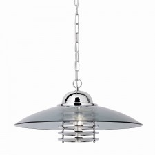 Coolie - Pendant Light (Smokey Glass Shade)