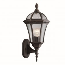 Capri Outdoor Light - Wall Up Lantern