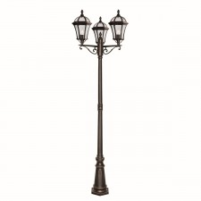 Capri Triple Headed Outdoor Post