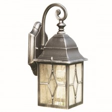 Genoa Outdoor Light - Black &Silver