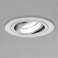 Astro Lighting Taro Fire Resistant Downlight- 1-Light, Brushed Aluminium