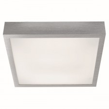 Fluorescents - Led Square Flush, Aluminium Trim