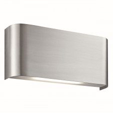 LED Modern Wall Lamp 5W - Satin Silver