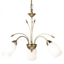 Barleycorn Ceiling Light - 3 Light Antique