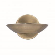 Modern Wall Light - Basin Antique Brass