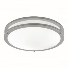 Flush Ceiling Light - 2 Light, Flourescent