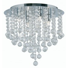 Crystal Balls Ceiling Lights - 4 Light