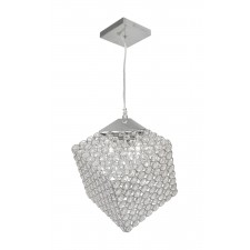 Oaks Lighting 2314/4 CH Blitz Chrome Cube Pendant