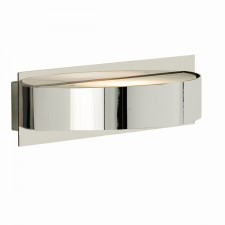 Modern Wall Light - Chrome half Moon