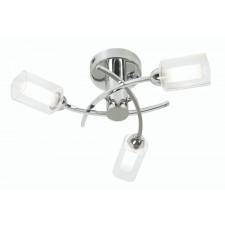 Oaks Lighting 2710/3 CH Ofira Chrome C/Light