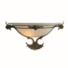 Decorative Wall Washer - Antique Brass