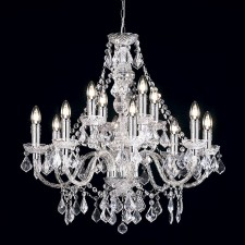Magnificent Chandelier - 12 Light Clear
