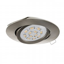 EINBAUSPOT GU10-LED 5W 3000K NICKEL-M.