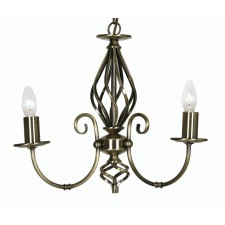 Tuscany Decorative Ceiling Light - 3 Light