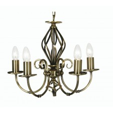 Tuscany Decorative Ceiling Light - 5 Light