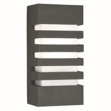 Outdoor & Porch Grilled Wall Bracket - Dark Grey