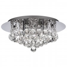 Hanna Flush Ceiling Light 4 Lamp