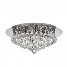 Hanna Flush Ceiling Light 6 Lamp