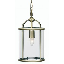 Oaks Lighting 351/1 AB Fern Lantern 1 X 60W Es