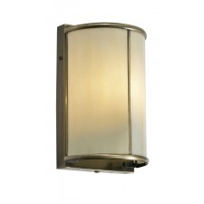 Oaks Lighting 351 WB AB TIFF With Cream Tiffany Glass