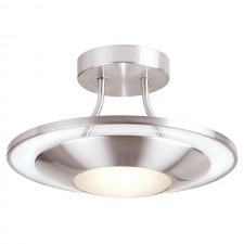Quick View · Halogen Kitchen Ceiling Light   Satin Chrome