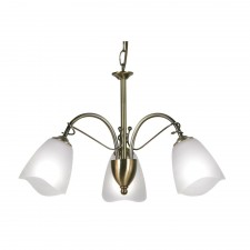Turin Decorative Ceiling Light - 3 Light, Antique Brass
