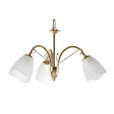 Turin Decorative Ceiling Light - 3 Light, Brass