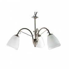 Turin Decorative Ceiling Light - 3 Light, Chrome